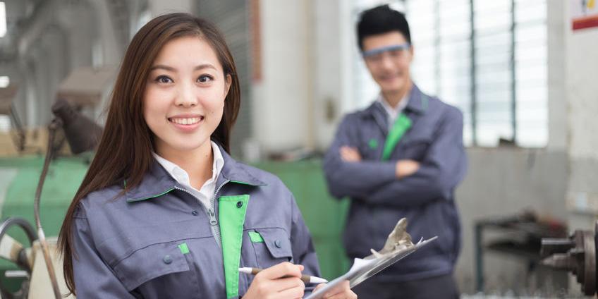 巡查生产车间对生产过程做出评价