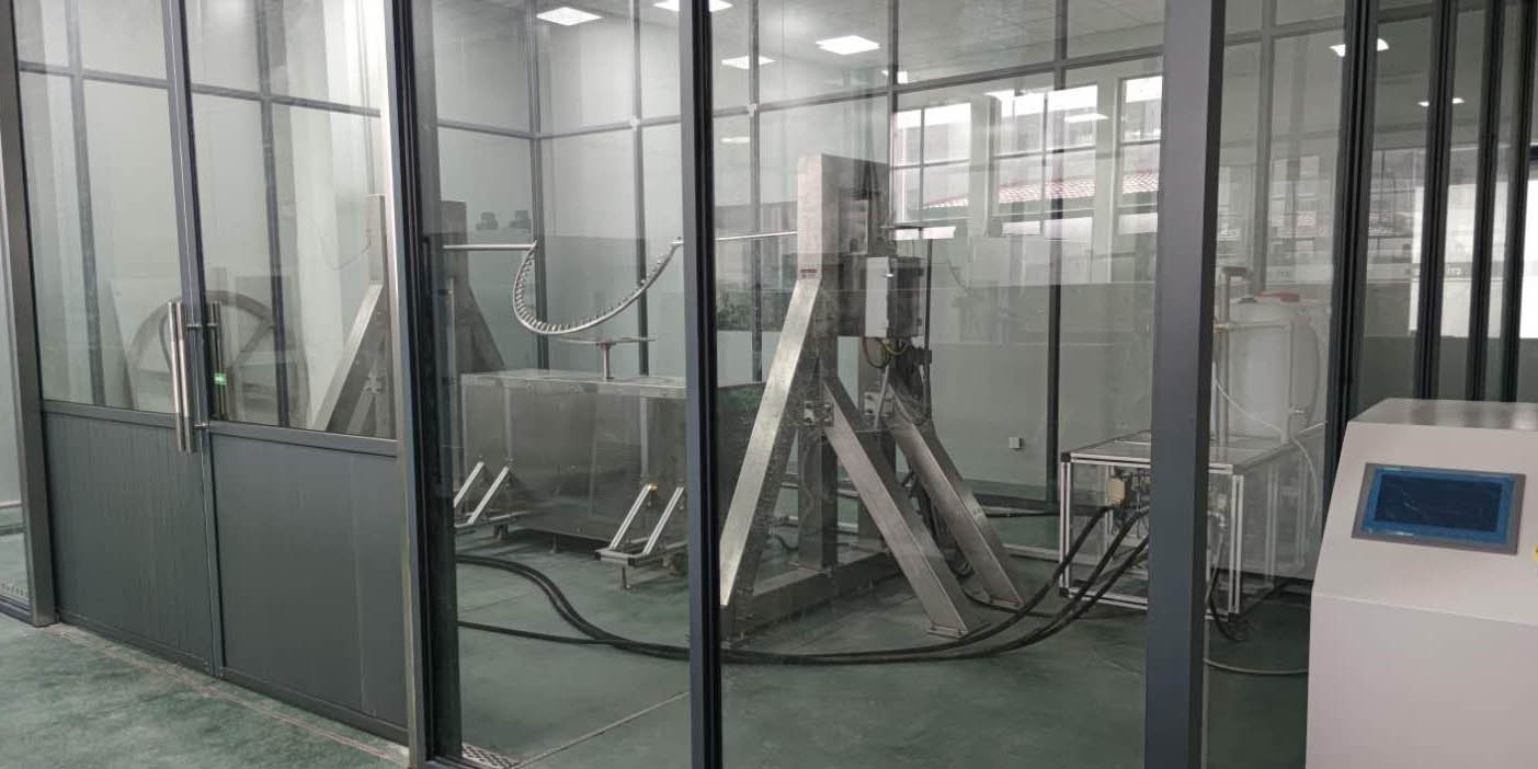轨道交通车辆设备及部件防尘防水防护等级测试