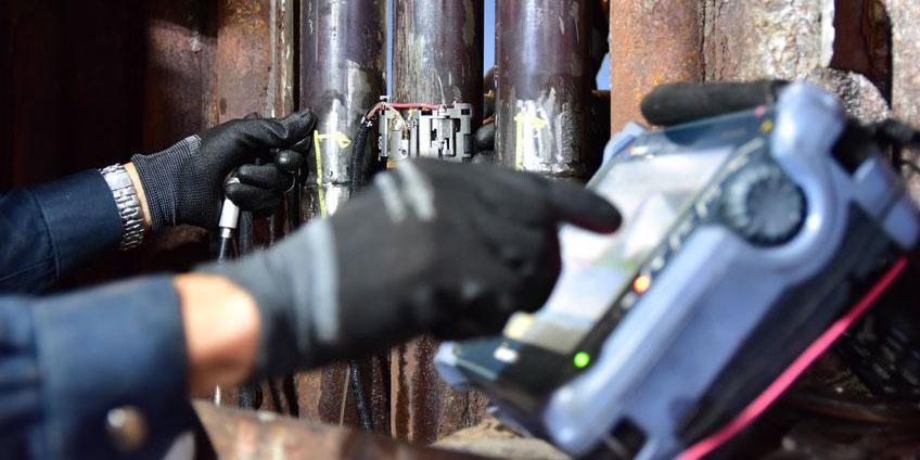 通过超声波检测工件内部缺陷