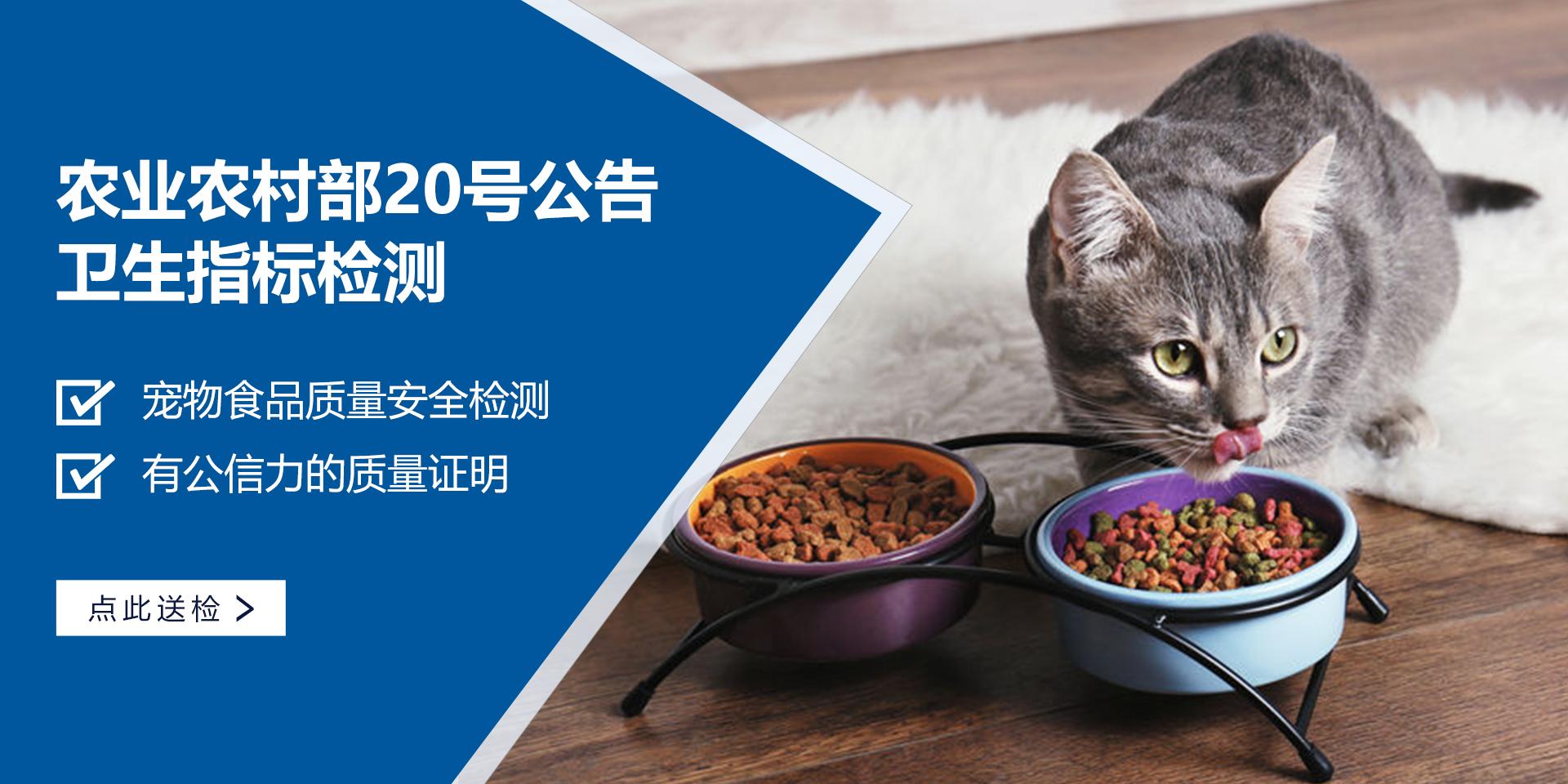 宠物食品20号公告